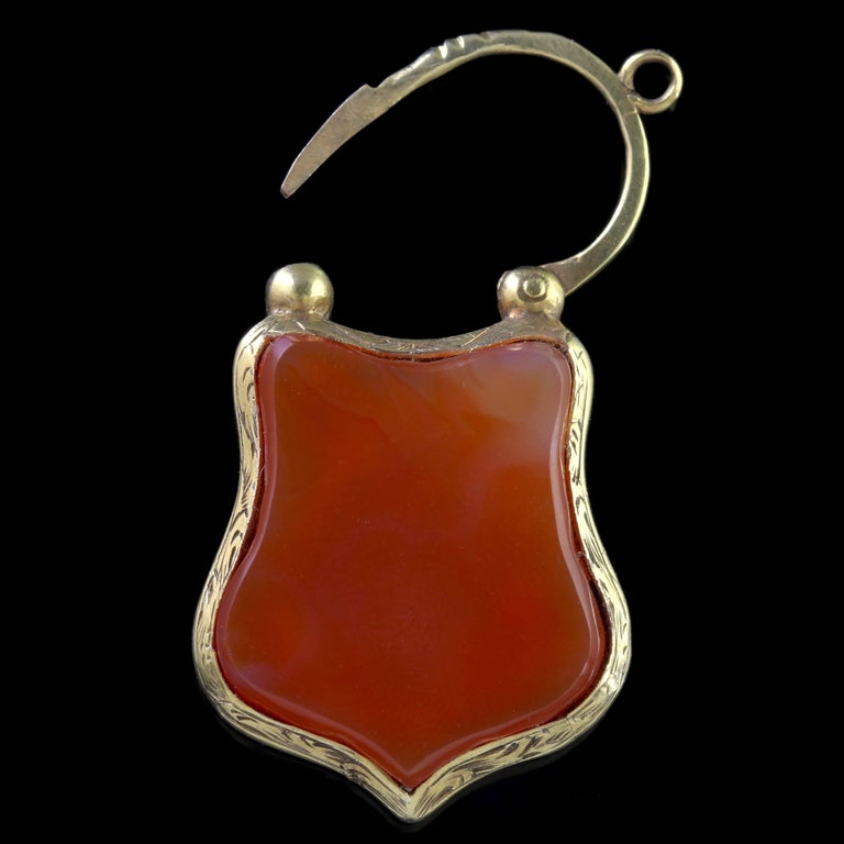 To read more please click continue reading below-  This is fabulous, a genuine Victorian 15ct Yellow Gold Scottish Agate bracelet which boasts superior quality from the 1860's.   Scottish jewellery was made popular by Queen Victoria as it became a