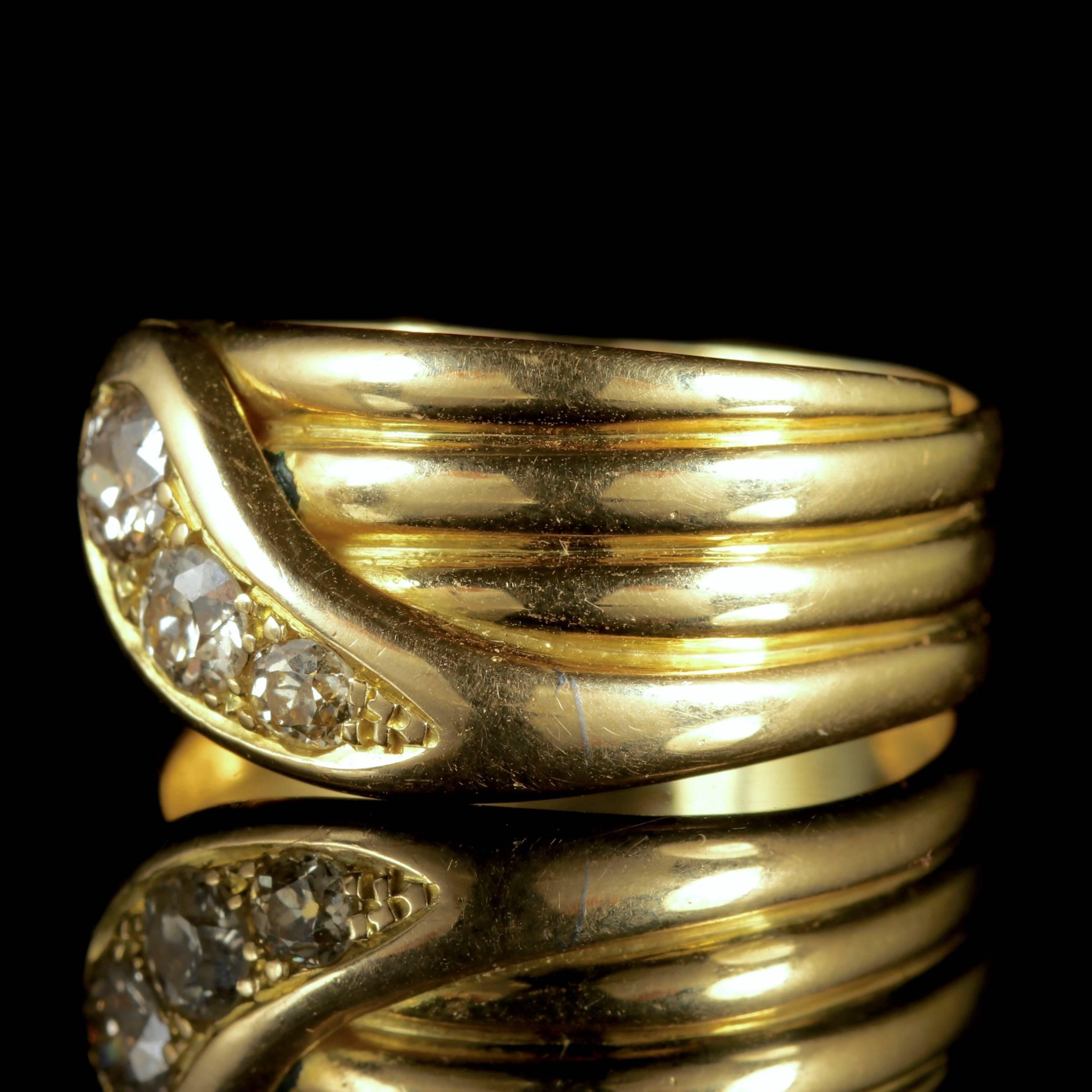 serpent ring j garnet for antique band double rings victorian serp id jewelry master at sale