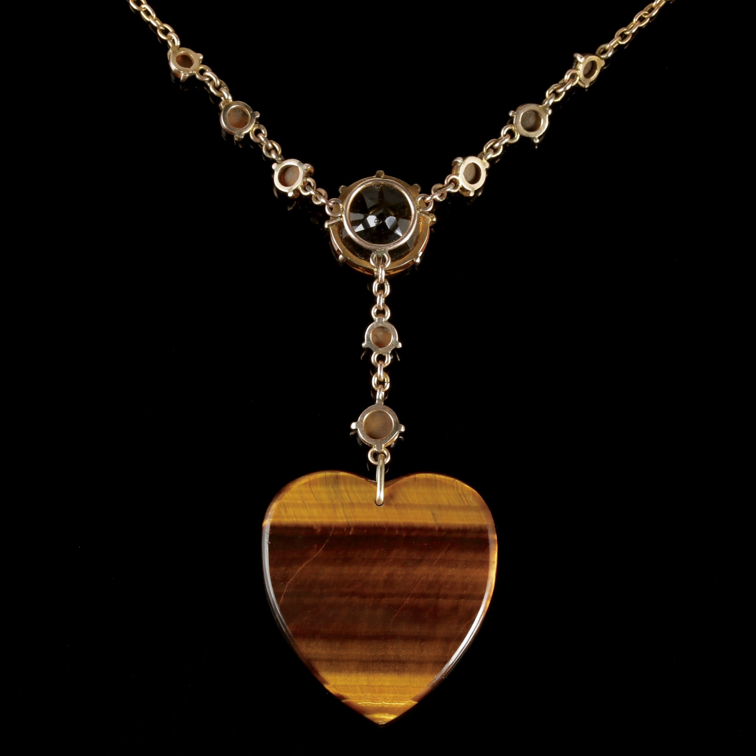 necklace pendant aurora tone tourmaline il autumnal multistrand with listing fullxfull drop citrine