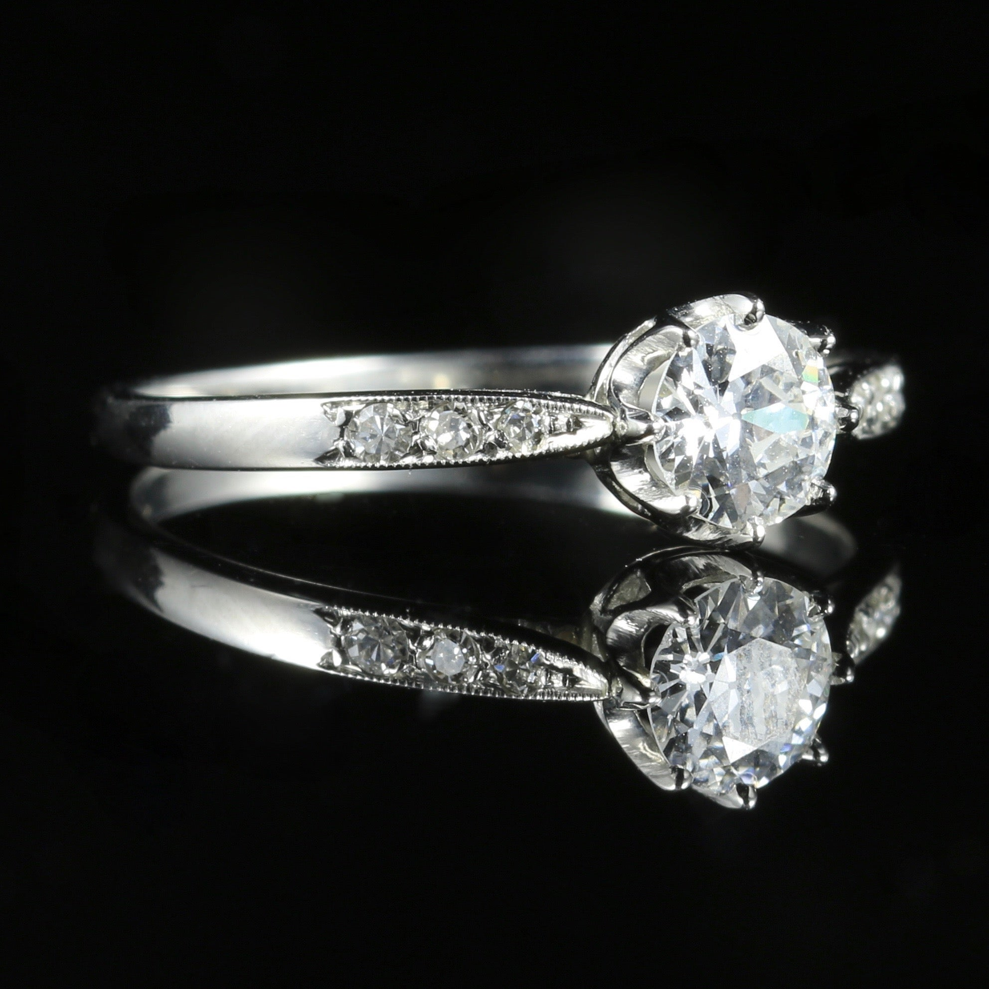 lane diamond rings engagement ring gypsy butter platinum antiques products