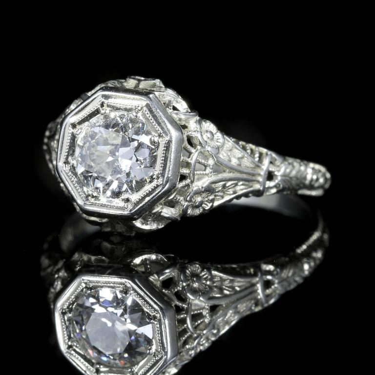 engagement rings certified diamond edwardian jewellery ring h