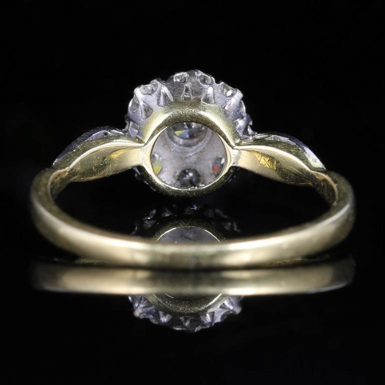cut antique solitaire diamond edwardian jewellery era european vintage engagement old ring eragem s rings