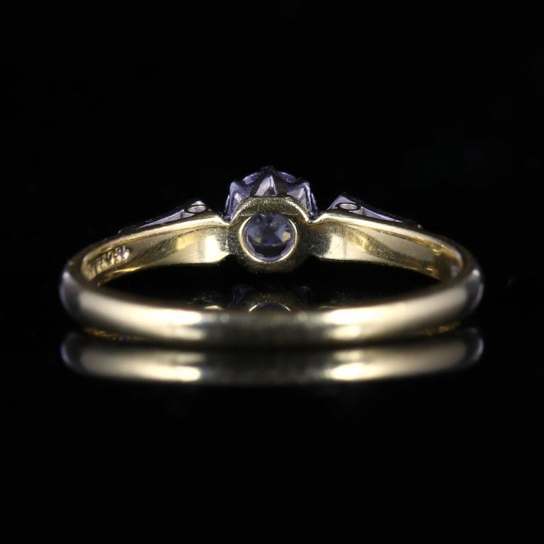 Antique Edwardian Diamond Engagement Ring circa 1915 at 1stdibs