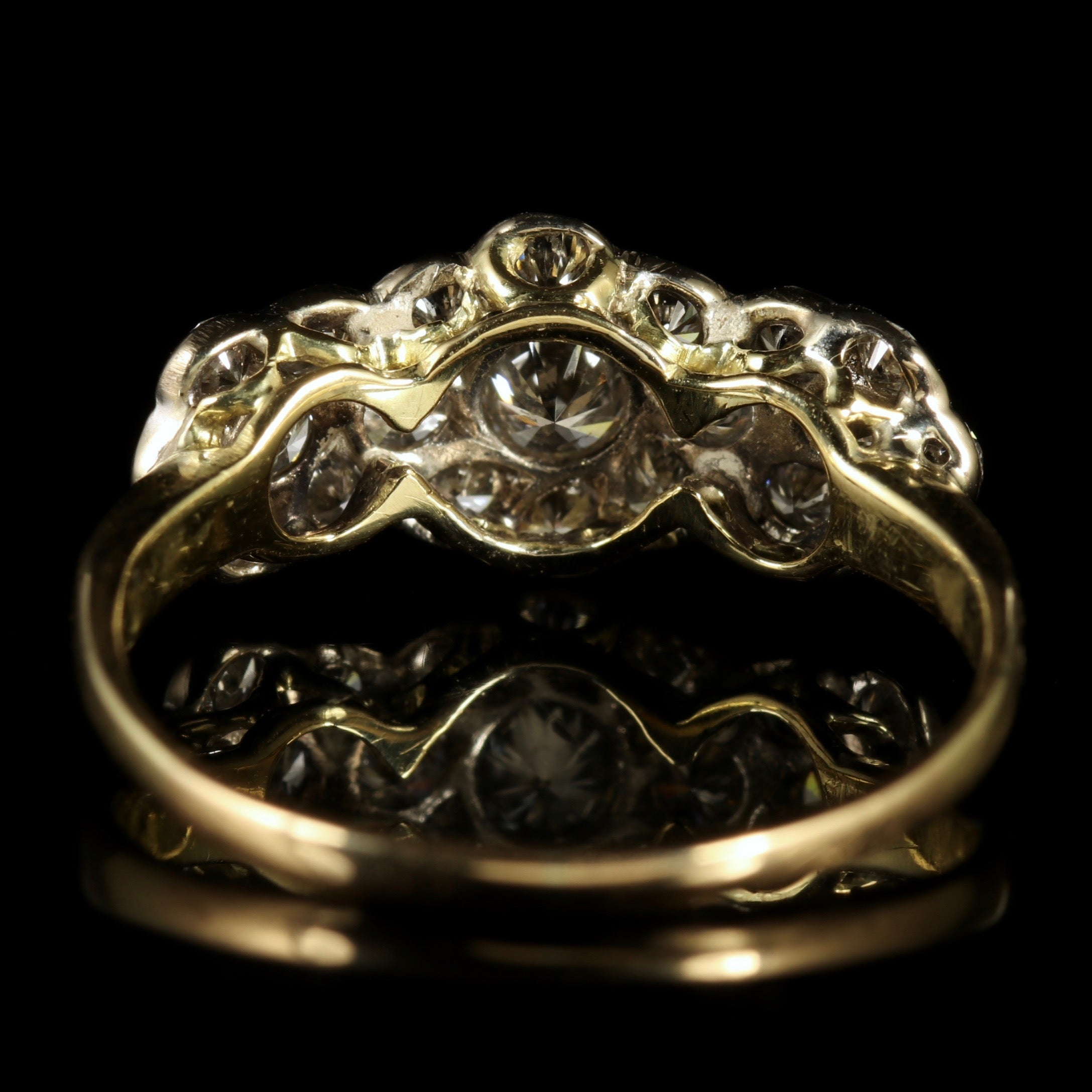 antique jewelry rings diamond victorian for of carat sale at id diamonds cluster gold ring master j gent engagement