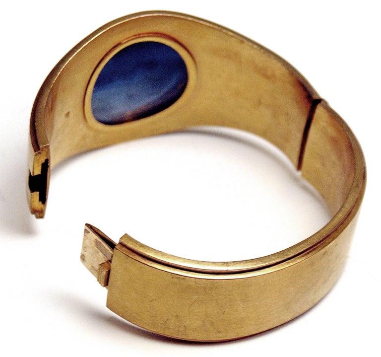 Antique Vienna Austria Gold Diamond Bracelet and Brooch 8