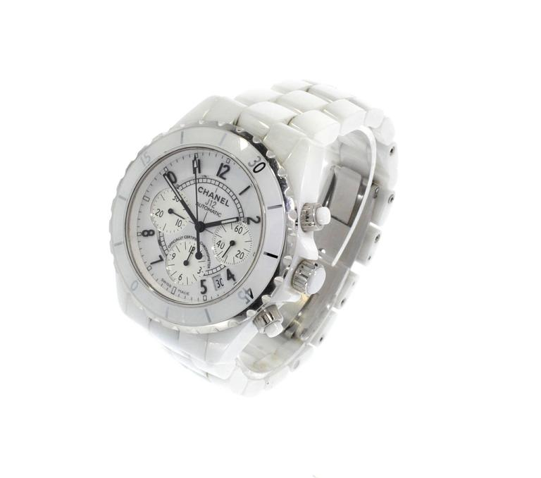 Chanel Ceramic Case J12 Chronograph Automatic Wristwatch  2