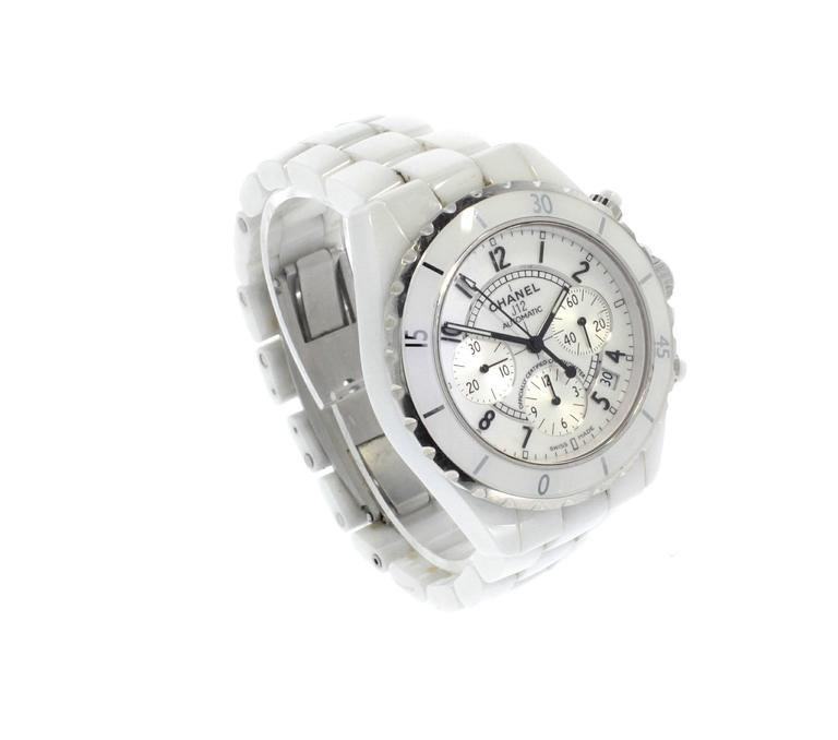 Chanel Ceramic Case J12 Chronograph Automatic Wristwatch  8