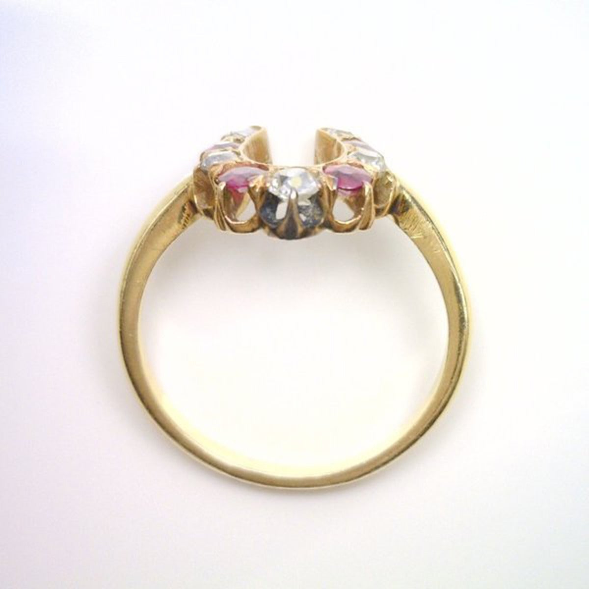 ruby horseshoe ring at 1stdibs
