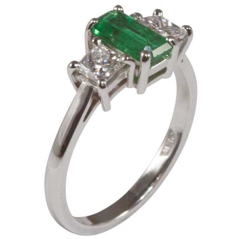 Stone Princess Cut Diamond Ring