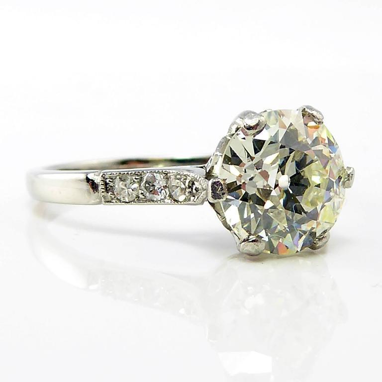 Old European Cut Diamond Engagement Ring Uk