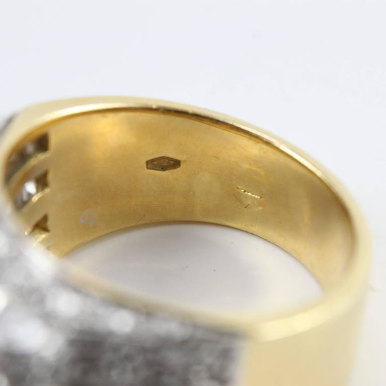 Retro Ruby Diamond Cocktail Ring 5