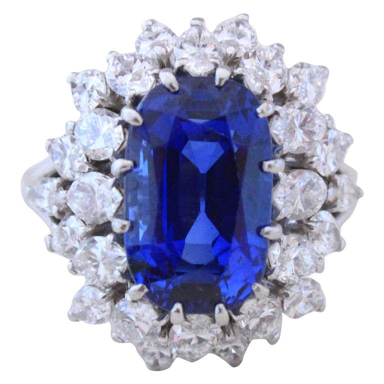 Diamond Rings For Sale Cheap: Boucheron Burma Sapphire Diamond Ring For Sale At 1stdibs
