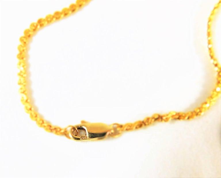 Le Soir Yellow Gold Antique Pocket Watch Pendant Necklace For Sale 4