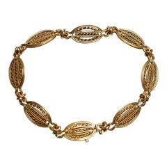Antique French Gold Bracelet
