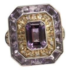 Theo Fennell Gold Amethyst Citrine Rumba Ring