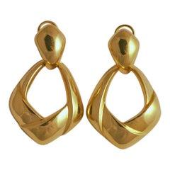 Tiffany & Co. 18 Carat Gold Earrings