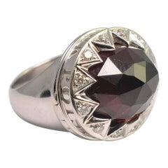 Stephen Webster Garnet Diamond Poison Ring