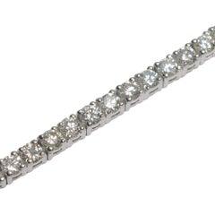Diamond Gold Line Bracelet