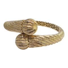 Diamond Gold Bangle