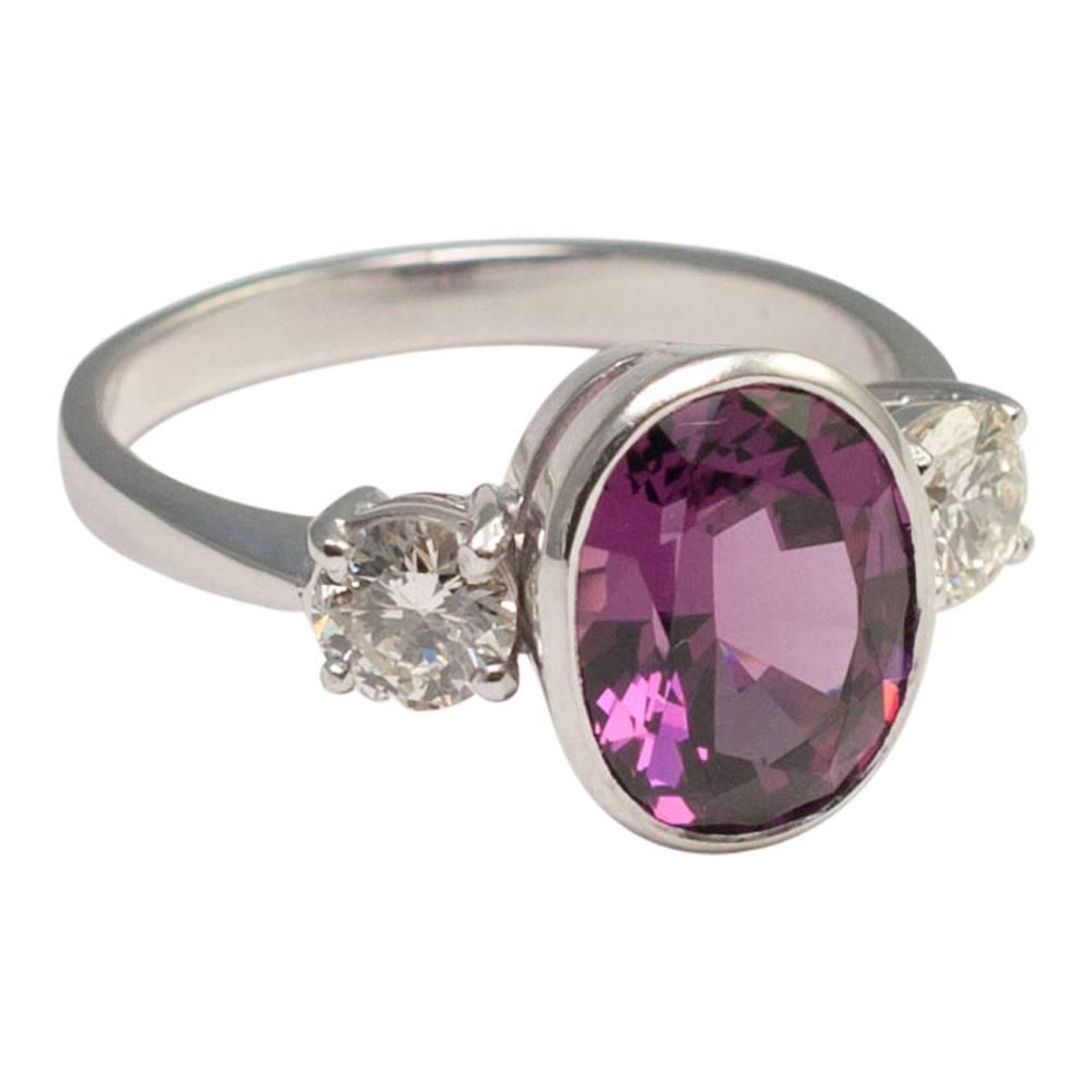 dublin ireland rings campbell ring products jewellers white diamond engagement gold halo garnet rhodolite