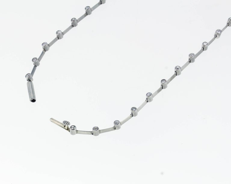 Natural Pearl and Diamond Drop Necklace 6