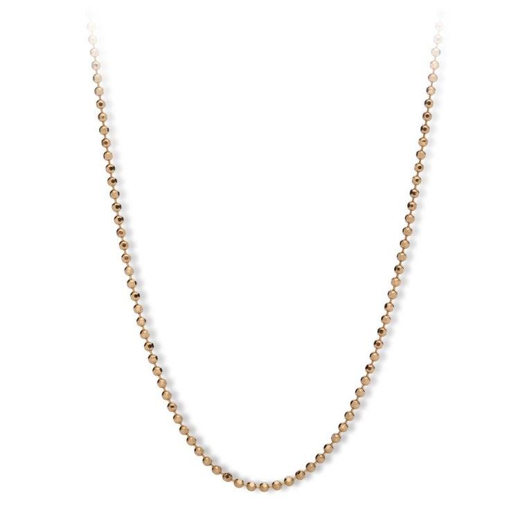 MAVIADA's Comino in Green Amethyst Quartz 18 karat yellow gold Pendant Necklace  For Sale 6