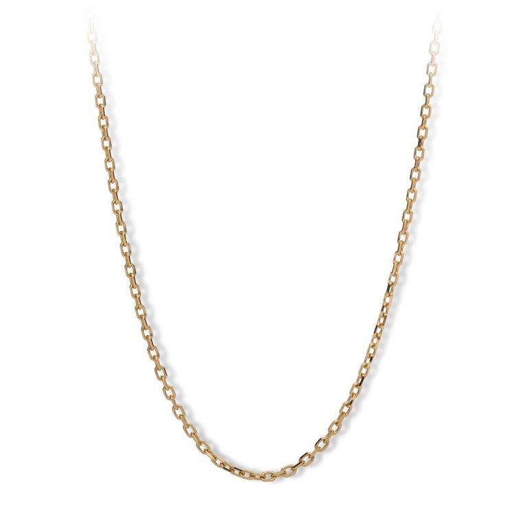 MAVIADA's Comino in Green Amethyst Quartz 18 karat yellow gold Pendant Necklace  For Sale 7
