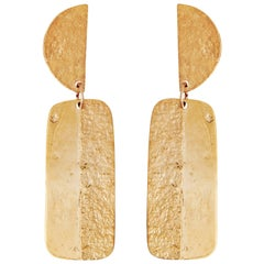 Allison Bryan Gold Articulated Earrings