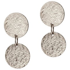 Arkaden-Ohrringe in Silber von Allison Bryan