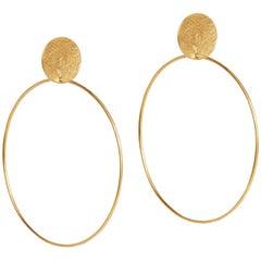 Stud and Hoop Earrings by Allison Bryan in Gold