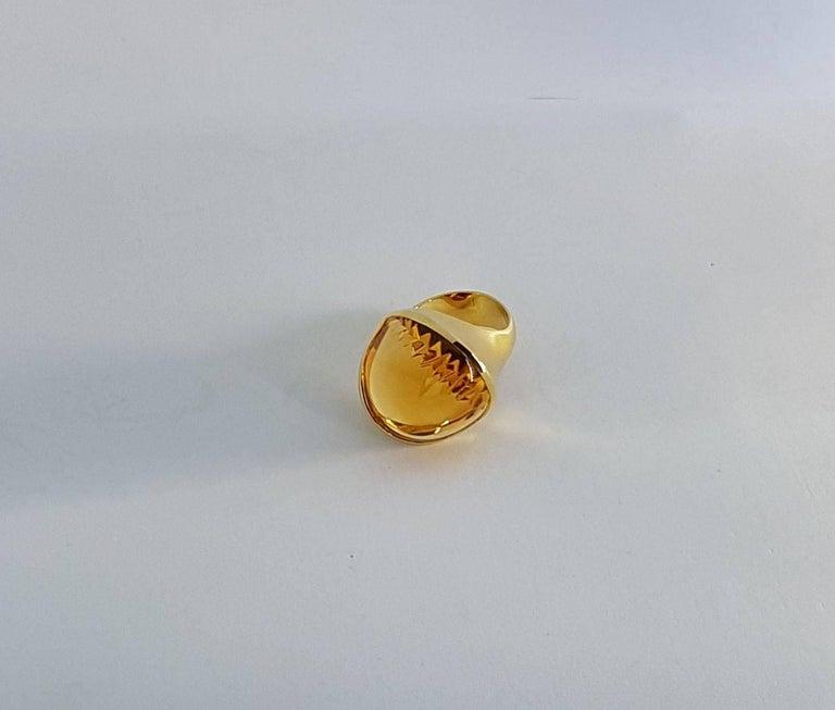 Women's Citrine Gold Ring