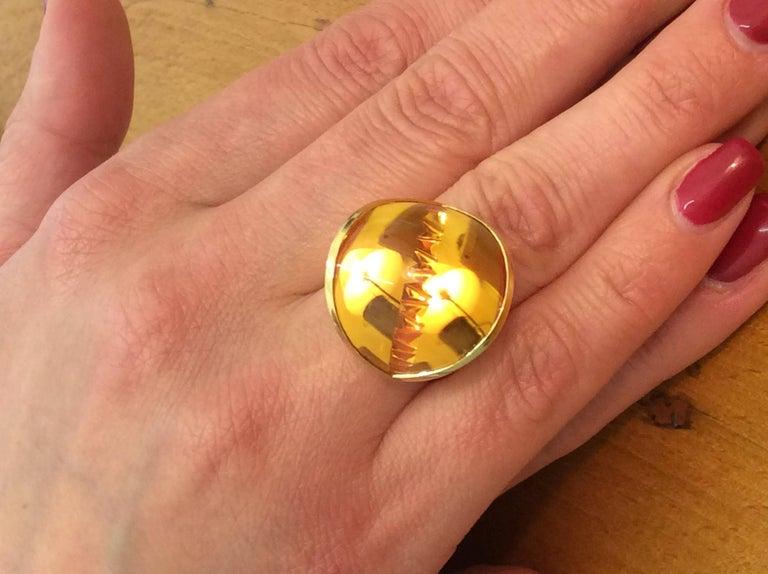 Citrine Gold Ring