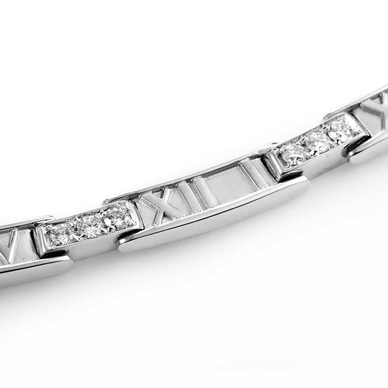 Tiffany & Co. Atlas Diamond Gold Collar Necklace 3