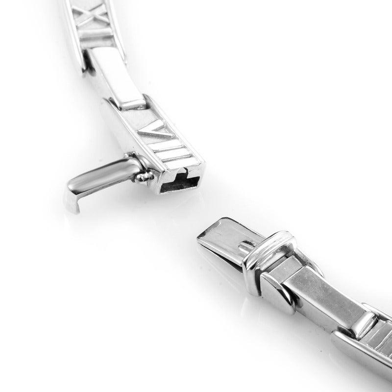 Tiffany & Co. Atlas Diamond Gold Collar Necklace 4