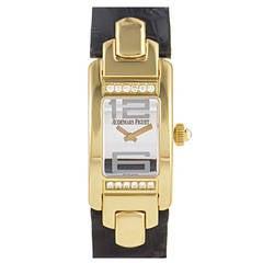 Audemars Piguet Ladies Yellow Gold Diamond Promesse Quartz Wristwatch