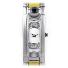 Mauboussin Ladies Stainless Steel M Quartz Bangle Wristwatch