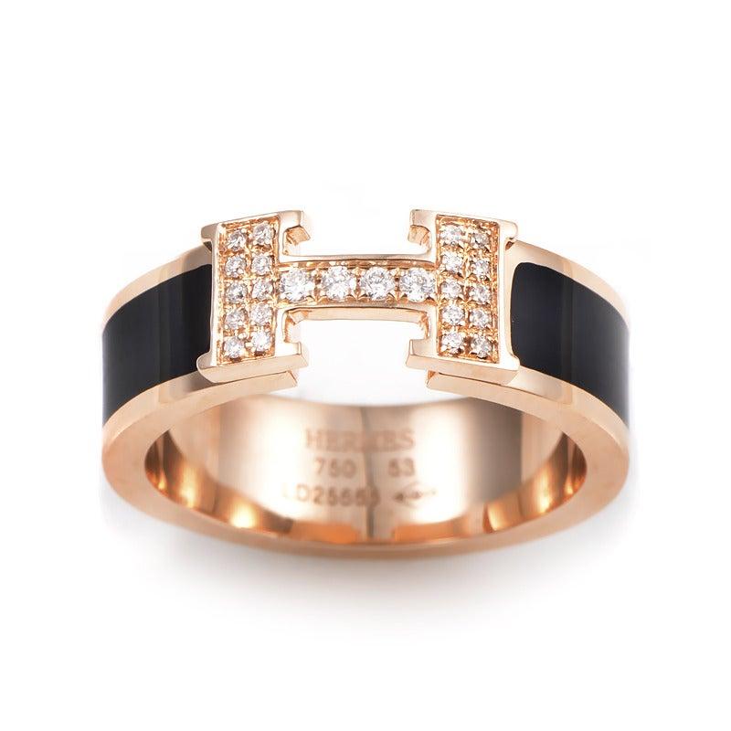 Hermes Ring Gold