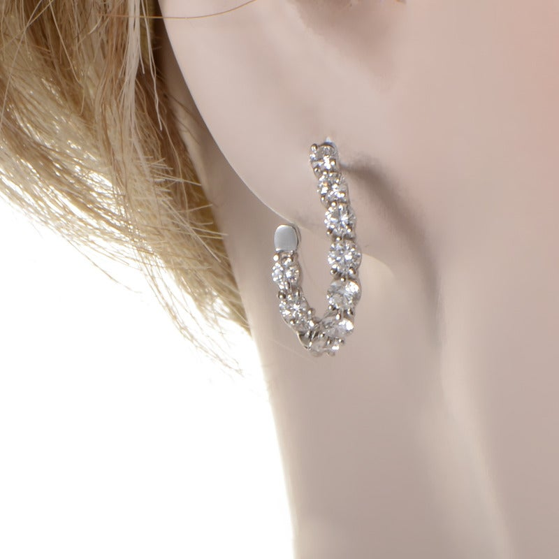 The Perfect Accessory For A Diamond Loving Lady This Pair Of Inside Out