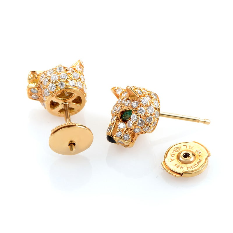 Cartier Panthere Earrings Price