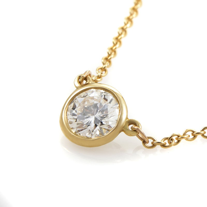 Tiffany And Co Elsa Peretti Yellow Gold Diamonds By The