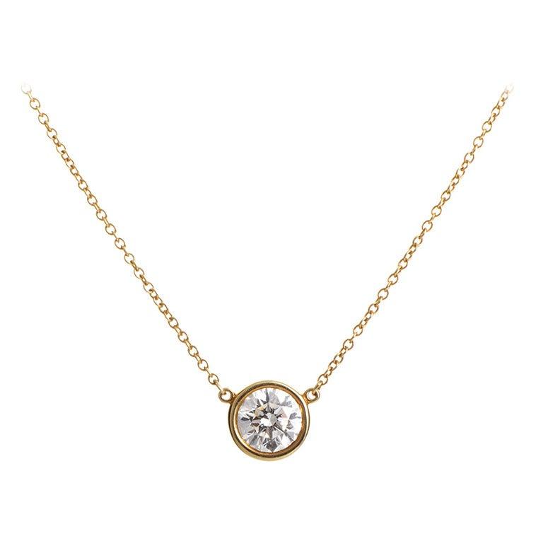 Tiffany And Co Elsa Peretti Diamond By The Yard Gold