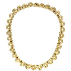 Boucheron Gold Choker Necklace