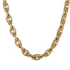 Chanel Yellow Gold Collar Necklace