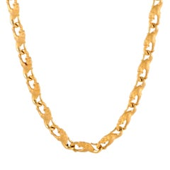 Carrera y Carrera Yellow Gold Panther Collar Necklace