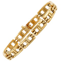 Tiffany & Co. Unisex Yellow Gold Link Bracelet