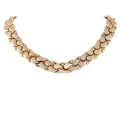 Chopard Casmir Diamond Yellow Gold Collar Necklace