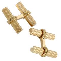 Van Cleef & Arpels Yellow Gold Cufflinks