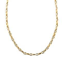 Cartier Yellow Gold Chain Necklace