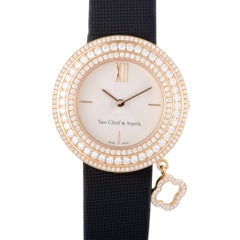 Van Cleef & Arpels yellow gold diamond Charms Wristwatch Ref HH29818