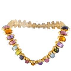 Multi-gemstone Choker Necklaces